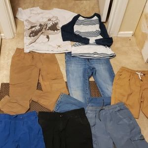 Boys lot of clothes size 8/10.